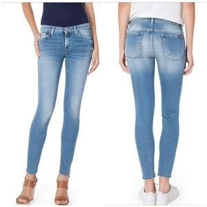 NWT 7 For All Mankind Skinny Slim Illusion Jean 28